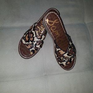 Sam Edelman Slip On Sandals